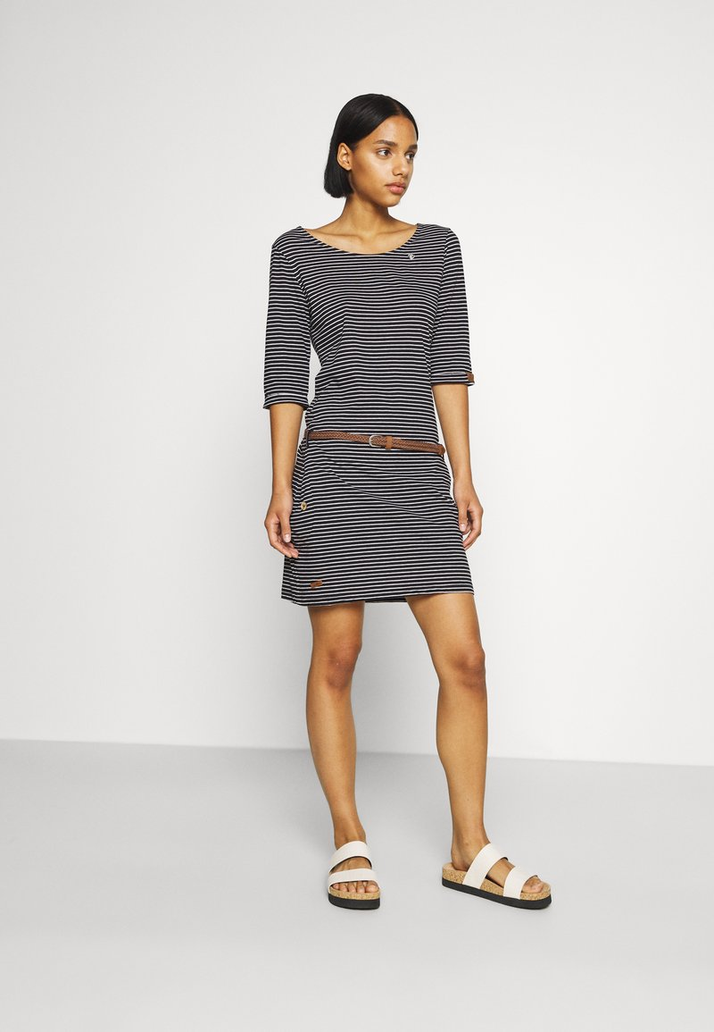 Ragwear - TANYA - Jersey dress - black