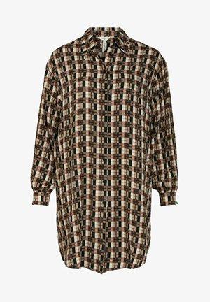 Button-down blouse - incense