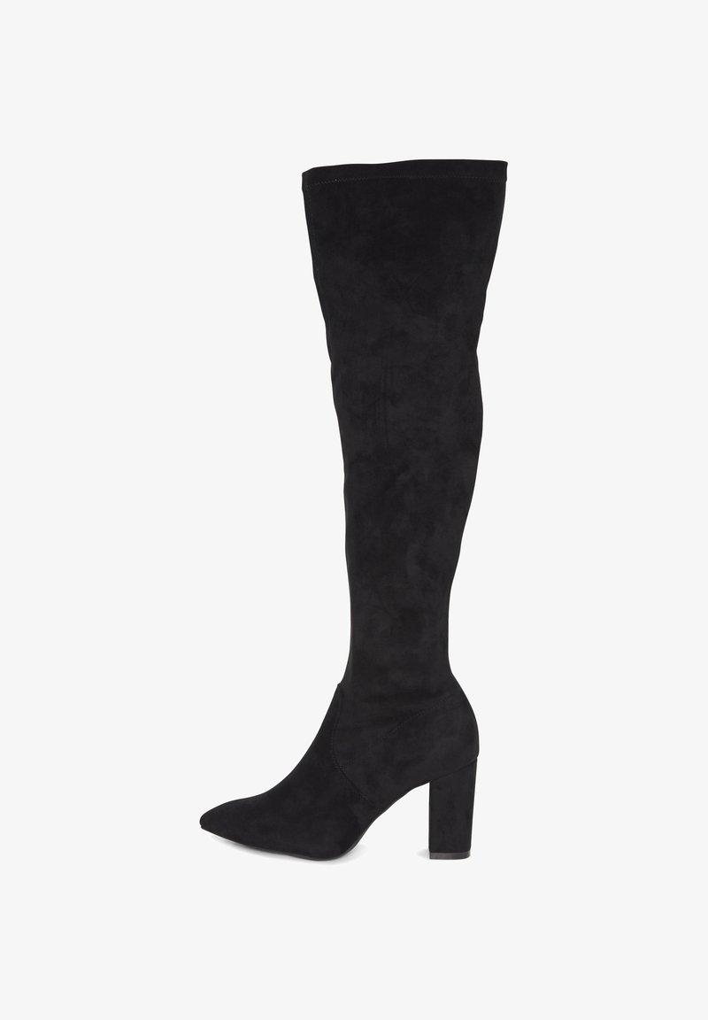 ICHI - High heeled boots - black