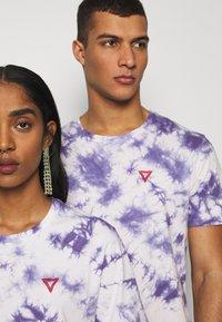 YOURTURN - T-shirt med print - lilac - 4