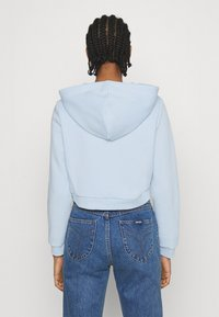 Monki - JOANNA HOODIE - Bluza rozpinana - blue light - 2