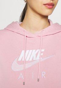 Nike Sportswear - AIR HOODIE - Hoodie - pink glaze/white - 4