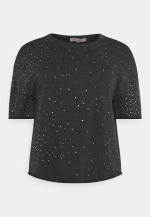 CARRUTH LIFE BOXY - Print T-shirt - black/acid wash
