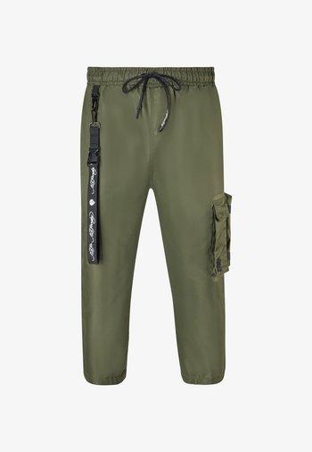TIGER-BELLOWS PANT - Cargo trousers - khaki