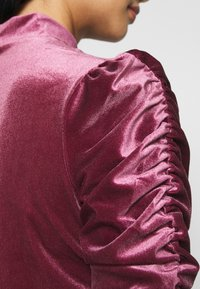 Monki - NARIN TOP - Long sleeved top - wine red - 5