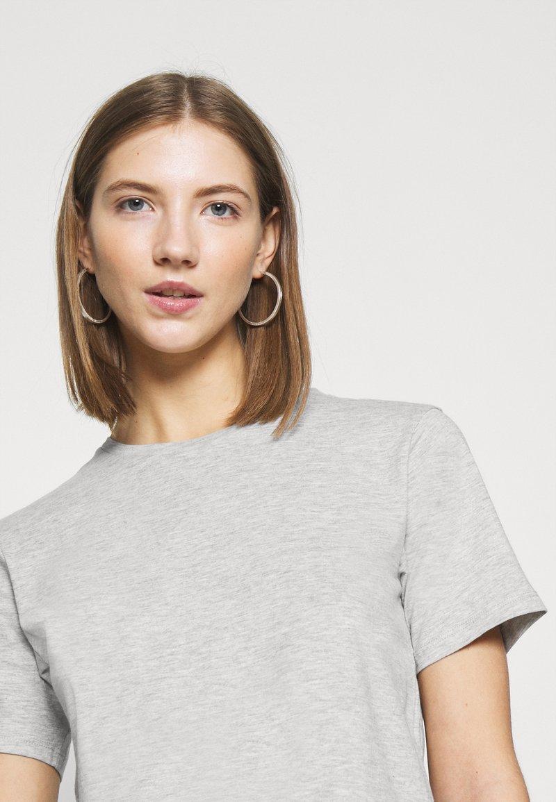 Even&Odd 2 PACK - T-Shirt basic - white/grey/grau TiYnwy