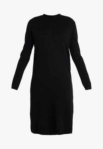 QALENE - Pletené šaty - black