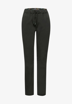 CASUAL FIT - Trousers - deep pine green