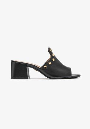 SAGE - Heeled mules - black