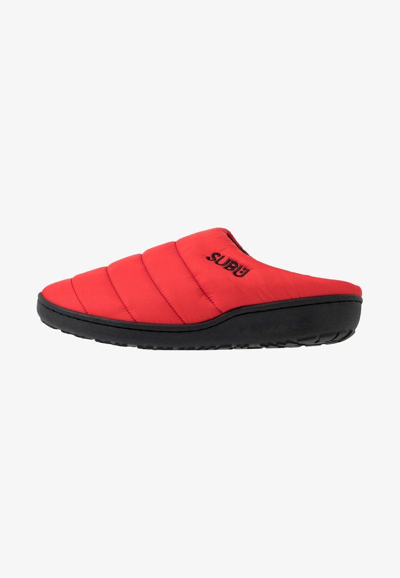 SUBU - SUBU SLIP ON - Klapki - red