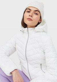 Stradivarius - Light jacket - white - 3