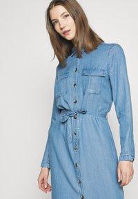 ONLY - ONLCASI LIFE  - Denim dress - medium blue - 4