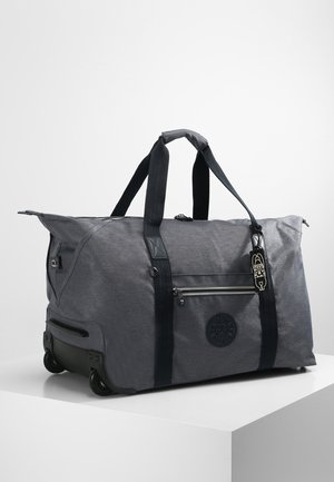 ART ON WHEELS M - Wheeled suitcase - charcoal