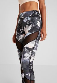 Even&Odd active - Leggings - black/multicoloured - 5