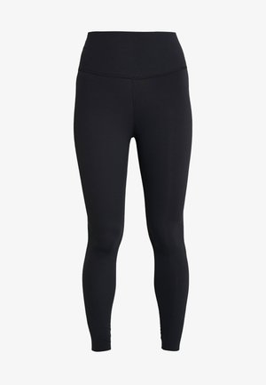 THE NIKE YOGA LUXE 7/8 - Legginsy - black/dark smoke grey