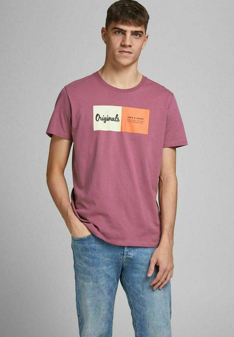 Herren JORJOSHUA TEE CREW NECK - T-Shirt print