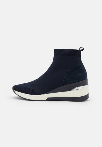 ENGEL - High-top trainers - navy