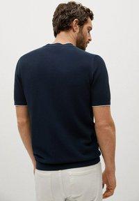 Mango - ROSS - Basic T-shirt - indigo blue - 2