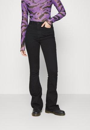VMSIGA - Bootcut jeans - black denim