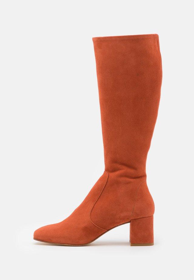 JAGGER - Boots - brique