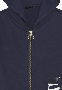 Guess - JUNIOR HOODED ACTIVE ZIP - Bluza rozpinana - deck blue - 4