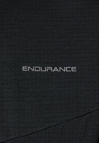 Endurance - LEDGER WAFFLE MIDLAYER - Sweatshirt - black - 2