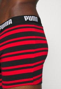 Puma - HERITAGE STRIPE 2 PACK - Pants - red/black - 4