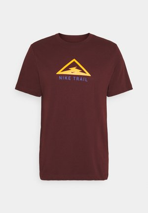 DRY TEE TRAIL - Printtipaita - mystic dates