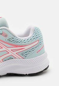 ASICS - CONTEND 7 UNISEX - Neutral running shoes - aqua/white - 5