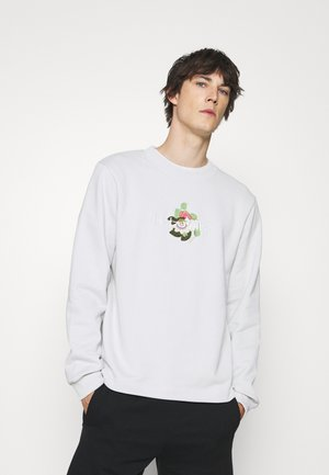 PASSION CREW - Sweatshirt - light grey