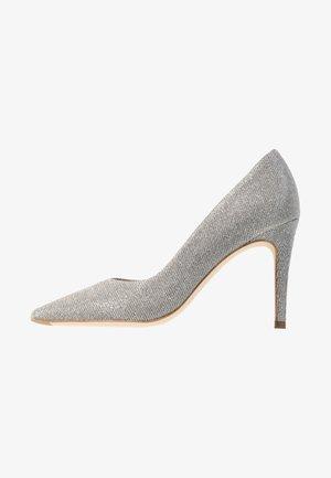 DENICE - Høye hæler - silber shimmer