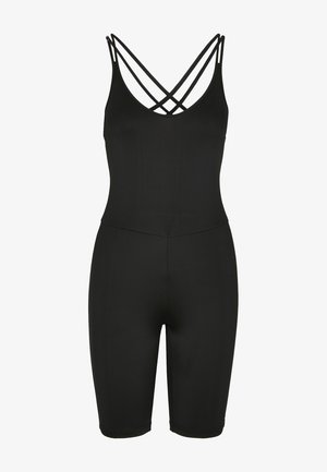 FRAUEN LADIES CYCLE JUMPSUIT - Jumpsuit - black