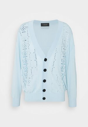 OVERSIZED CARDIGAN - Cardigan - light blue