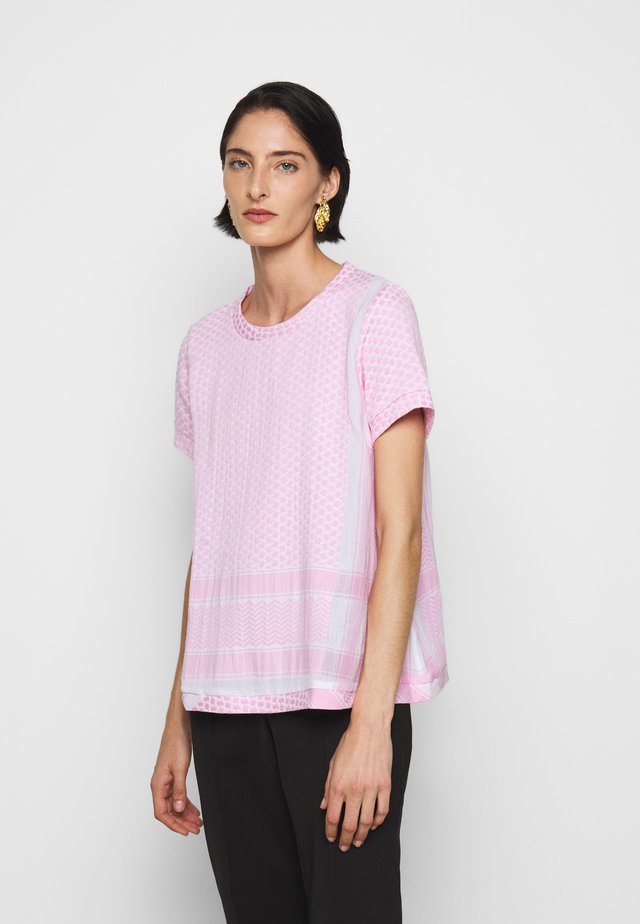 SHORT SLEEVES - T-shirt z nadrukiem - bubble