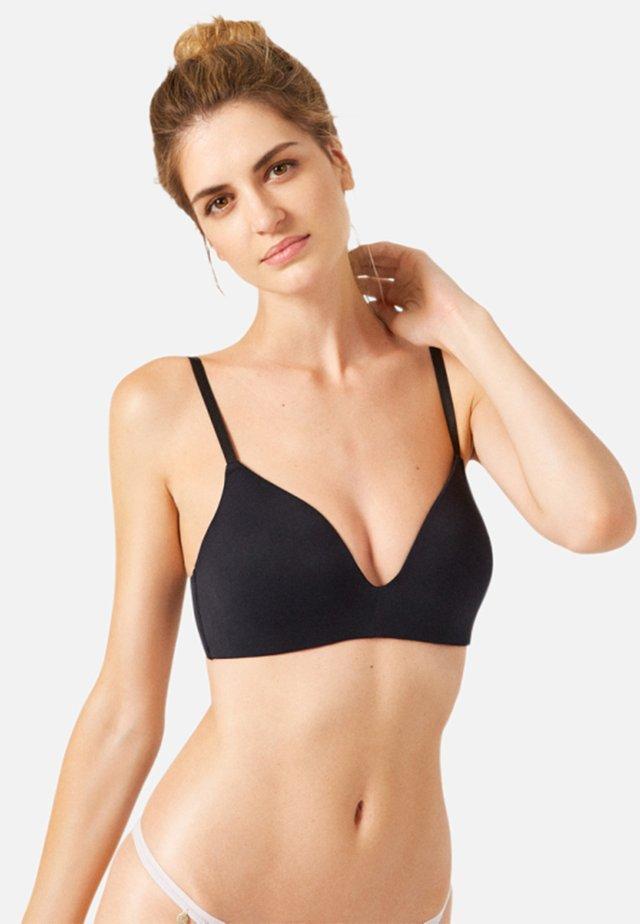CANTORIA - Triangle bra - black