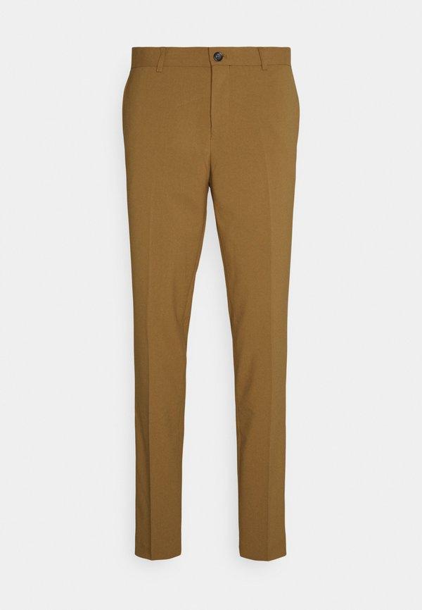 Lindbergh PLAIN SUIT - Garnitur - mid camel/wielbłądzi Odzież Męska BKRA
