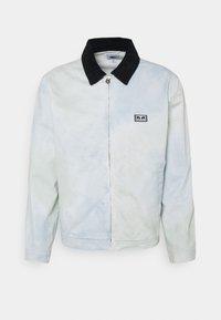 Obey Clothing - TIE DYE WORK JACKET - Kevyt takki - good grey - 7