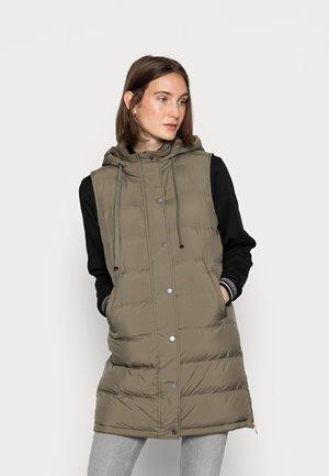 WAFA CASUAL - Waistcoat - soft moss