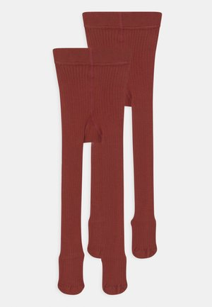NKNPANTYHOSE 2 PACK UNISEX - Tights - spiced apple