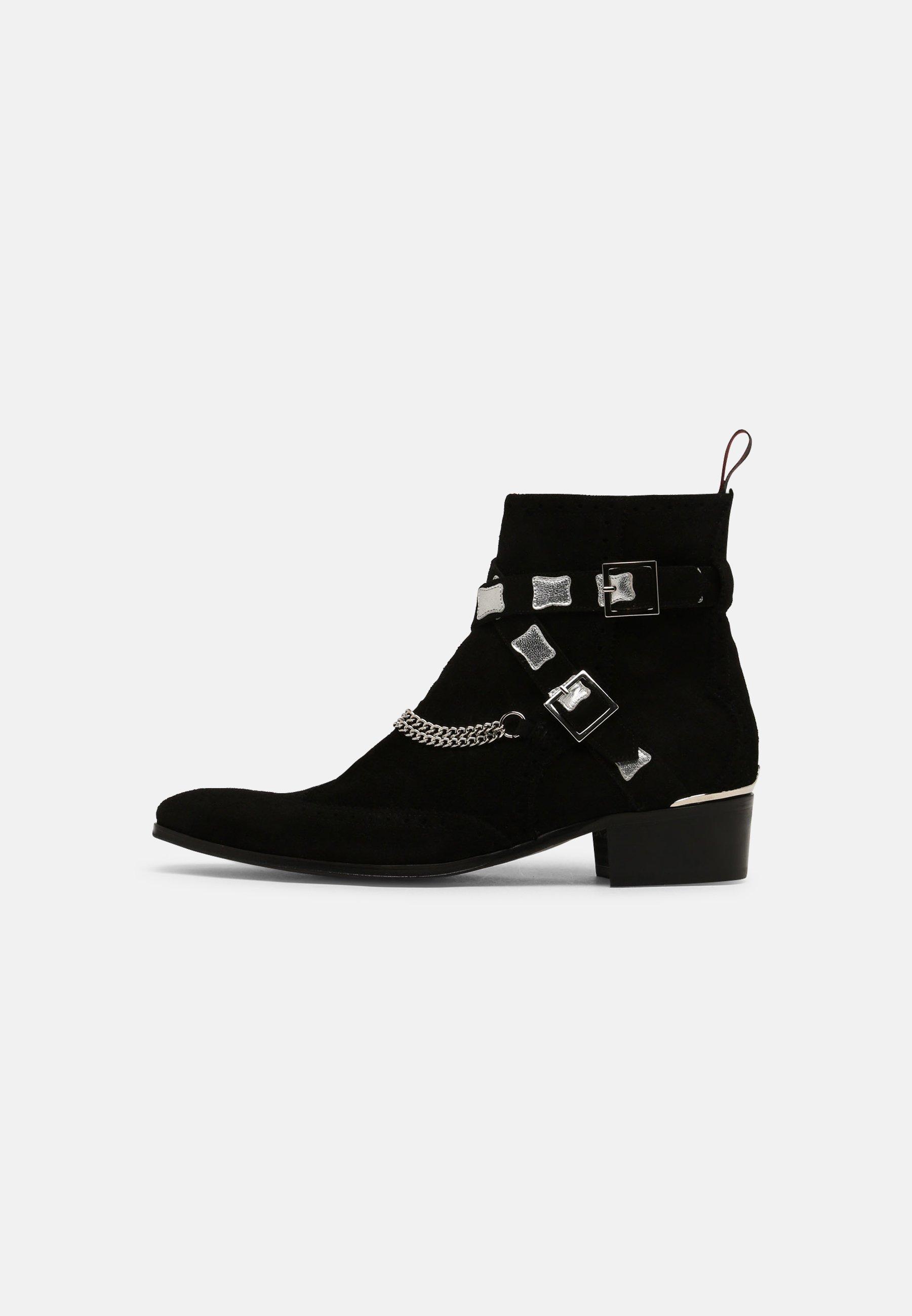 Men CARLITO DOUBLE STRAP - Cowboy/biker ankle boot
