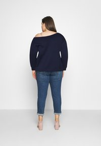 Even&Odd Curvy - Sweatshirt - blue
