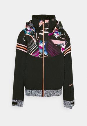 POP MERIDIAN - Snowboardová bunda - true black