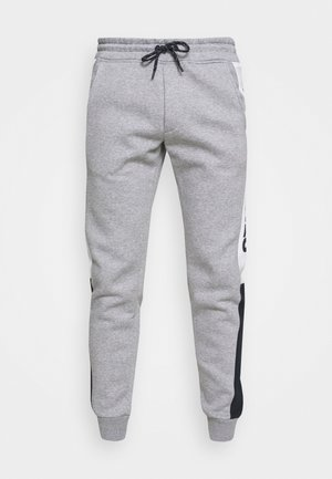 JJIWILL LOGO BLOCKING  - Pantaloni sportivi - light grey melange