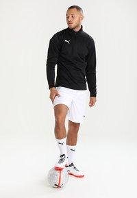 Puma - LIGA TRAINING ZIP - T-shirt de sport - black/white - 1