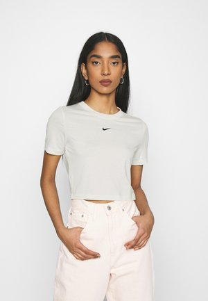 TEE SLIM - Basic T-shirt - coconut milk