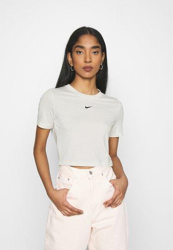 TEE SLIM - Camiseta básica - coconut milk