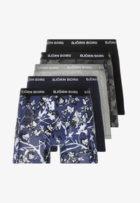 Björn Borg - FLEURS JARDIN SHADELINE 5PACK - Underkläder - deep cobalt - 6