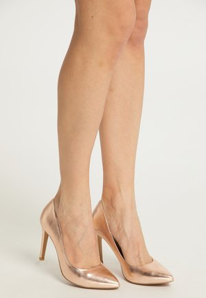 High Heel Pumps - rosegold