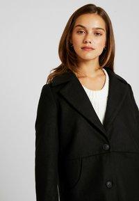 Noisy May Petite - CLAUDIA PETITE - Classic coat - black - 4