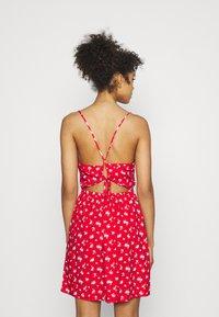 Hollister Co. - SHORT DRESS - Day dress - red - 2
